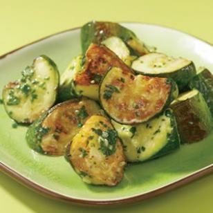 Roasted Zucchini & Pesto Recipe