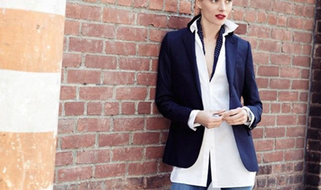 12 Ways to Style a White Collared Shirt