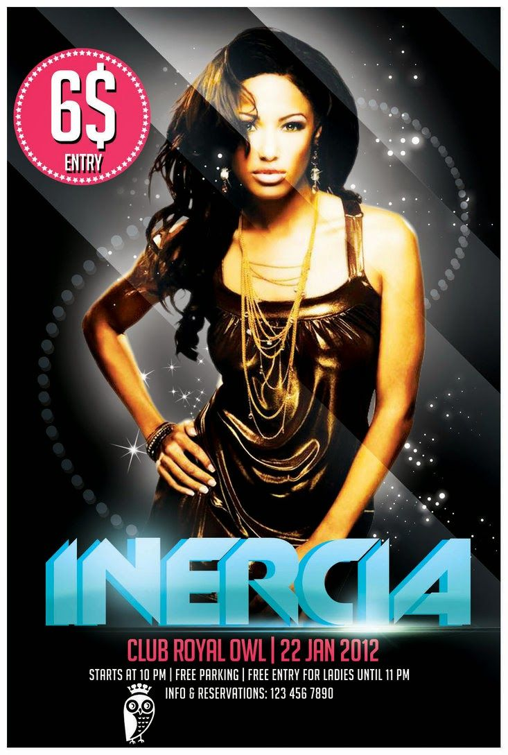 FREE PSD FLYER – Inercia Flyer Download ~ Freebies PSD