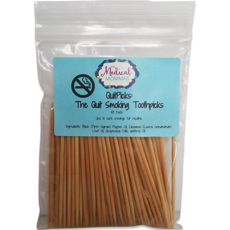 QuitPicks- The Stop Smoking Toothpicks - The Medical Mommas - 1