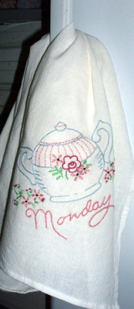 Mama's Days of the Week Tea Towels
