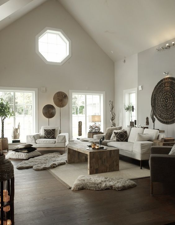 How To Add Ethnic Chic Style To Your Living Room 7