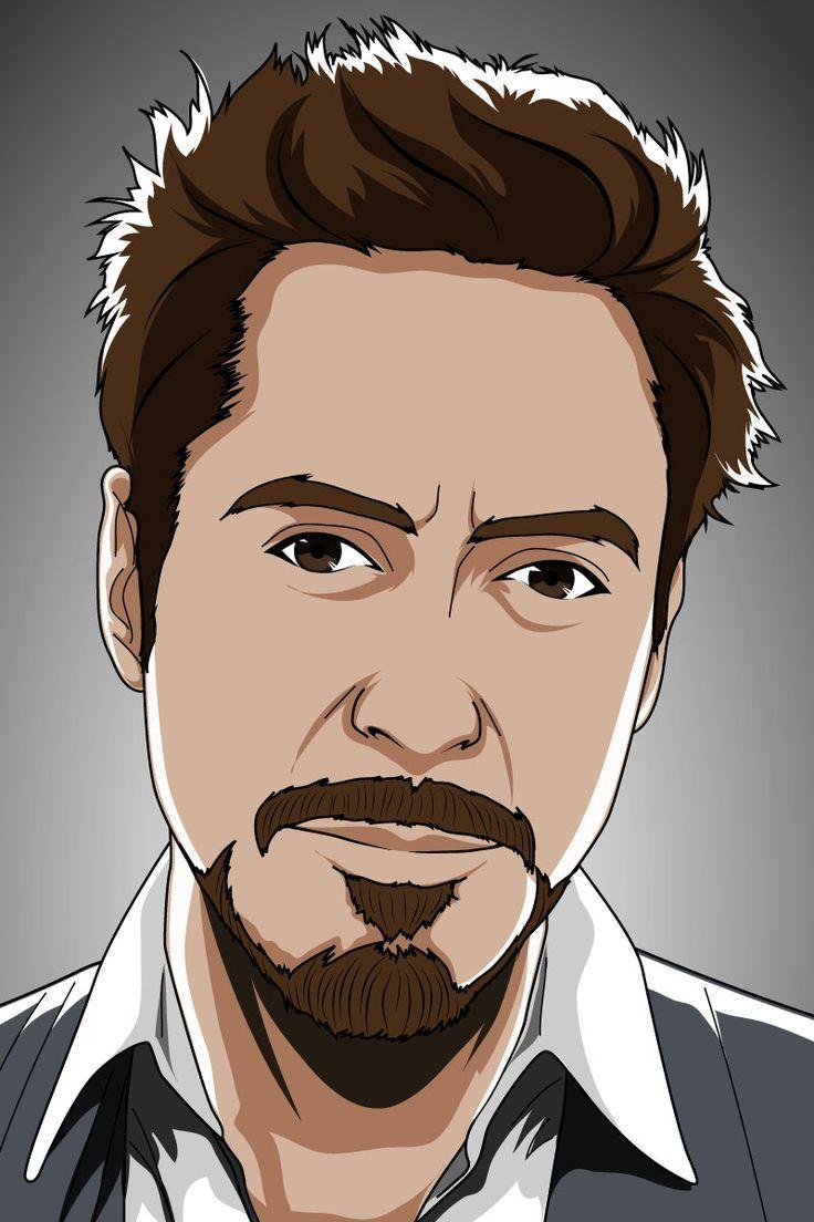 Vector Portrait cartoon vector portrait. check out my gigs