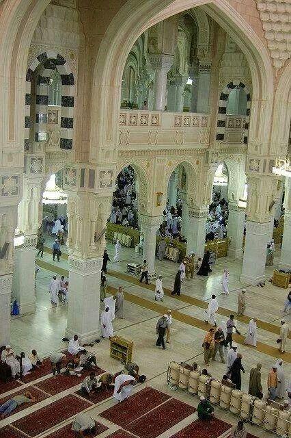 Amazing extention of masjid al Haram
