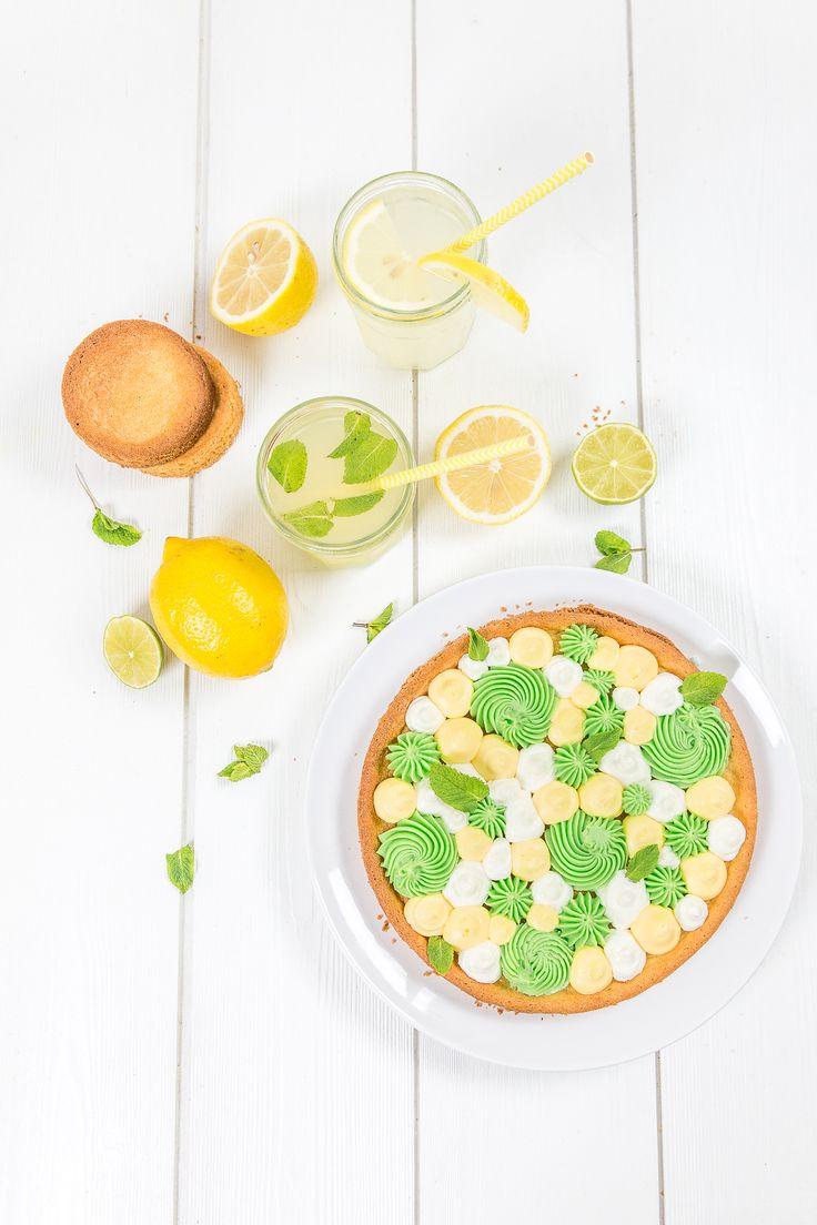 Fantastik aux deux citrons noix de coco - Lemon pie with coconut