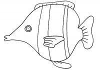 Disegni di pesci da colorare - Cose Per Crescere
