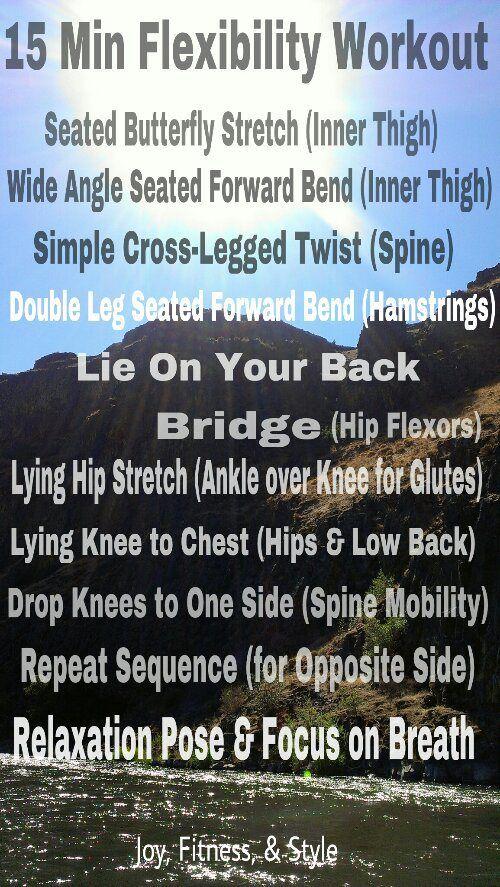 15 minute flexibility workout