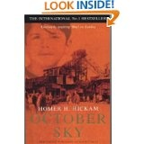 October Sky by Homer Hickam. Why do we struggle to inspire our kids, especially boys when there are books like this available to us.