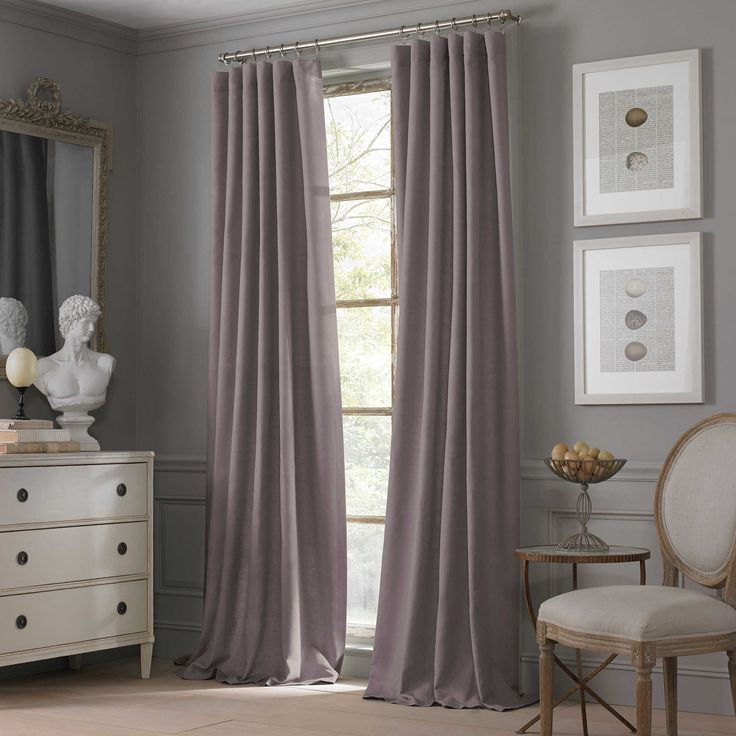 Valeron Estate Cotton Linen 120 Inch Window Curtain