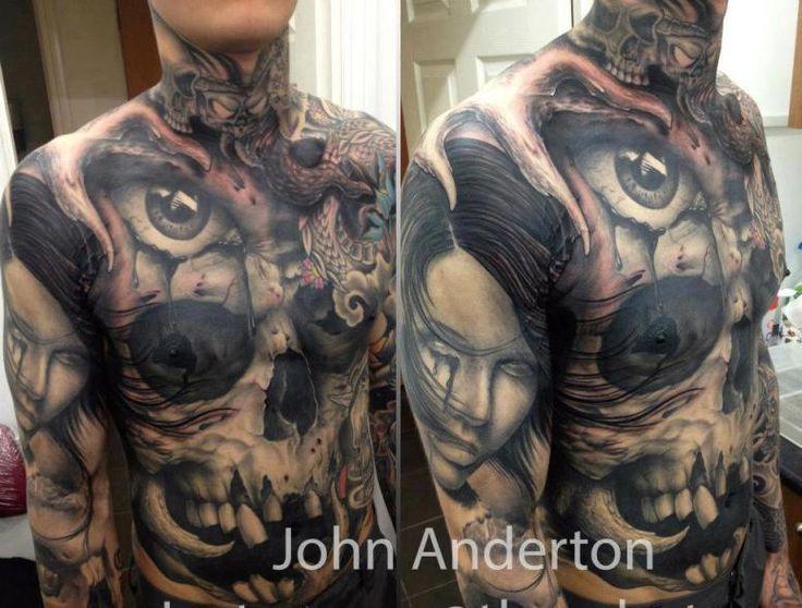Tattoo by John Anderton - Nemesis Tattoo, Uk