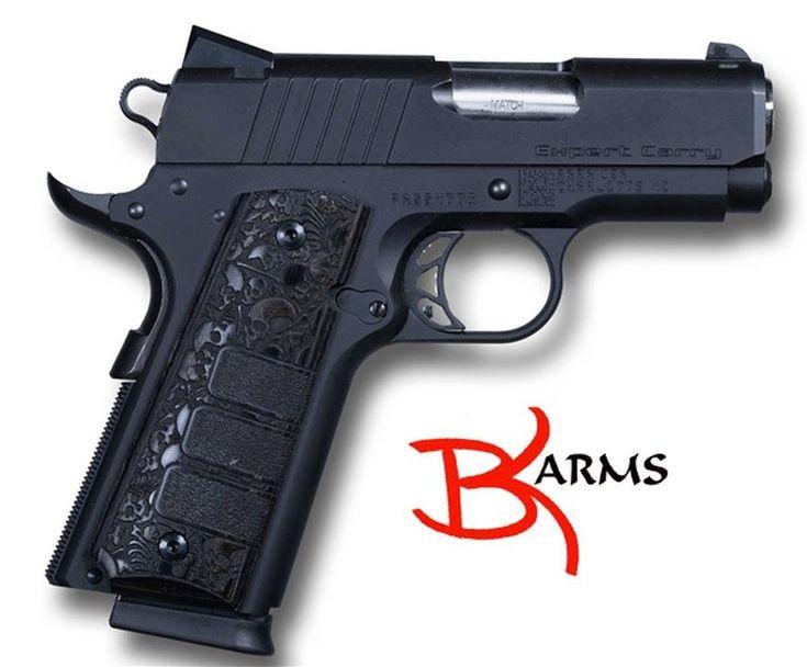 GunAuction.com - Para-Ordnance Mfg. Inc. Para 96750 1911 Expert Carry Black 3 2 Mags .45 - Item:12642579
