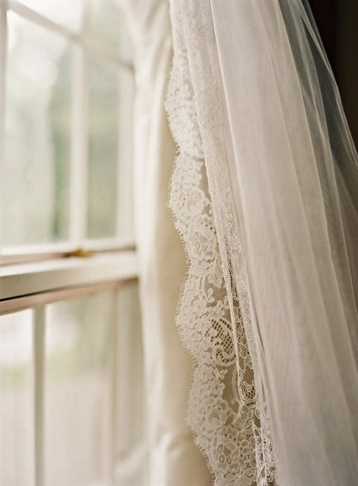 window and curtain use wedding veil in master bedroom over bed  h o m e  Lace curtains