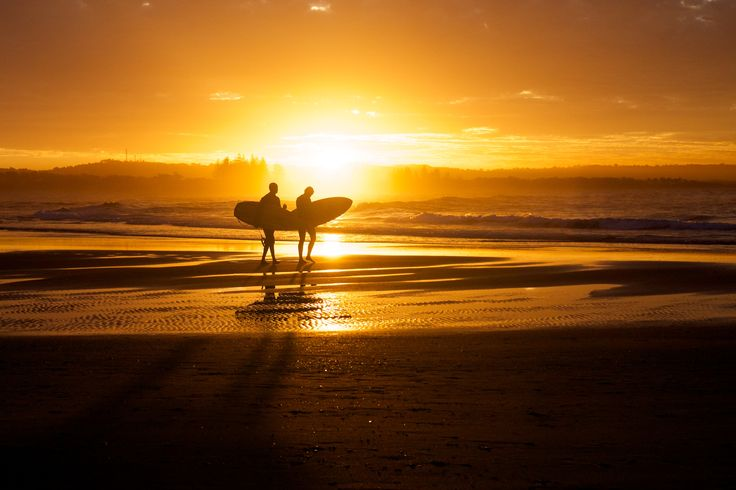Surfers completed - Byron Bay & Australia