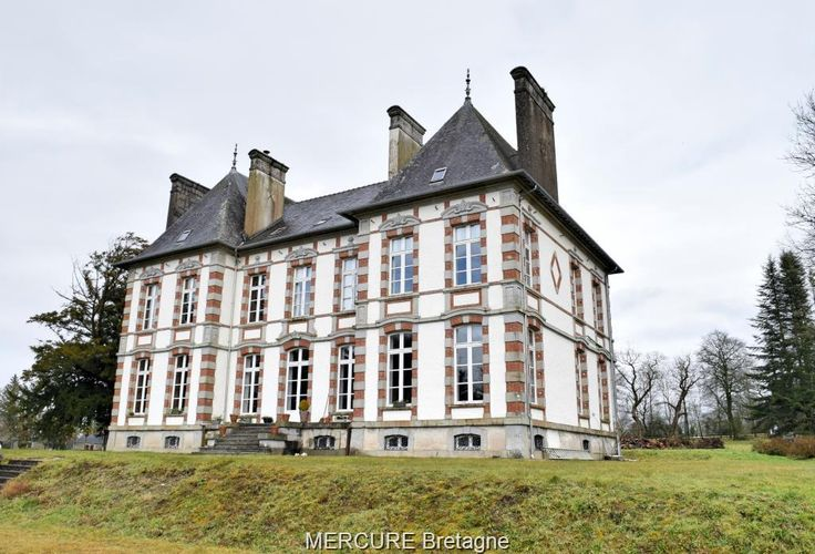 France - For sale castle PLEYBEN - 112vm
