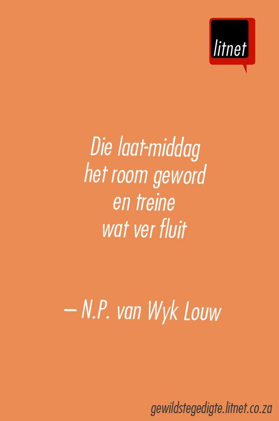 NP van Wyk Louw #afrikaans #gedigte #nederlands #segoed #dutch #suidafrika