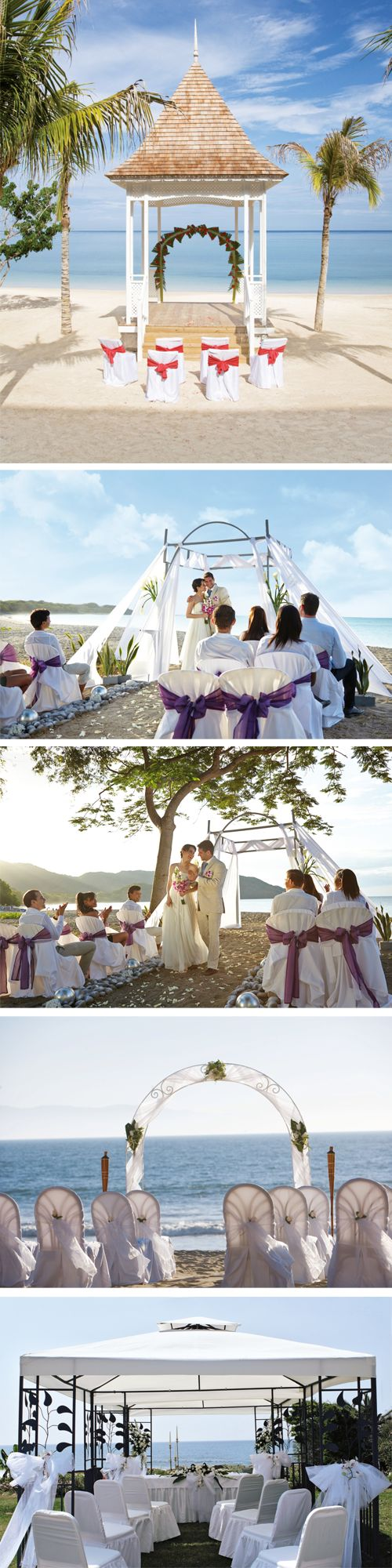 Wwedding in paradise - Wedding Altar decoration idea - Beach Wedding - Wedding destination - RIU Weddings