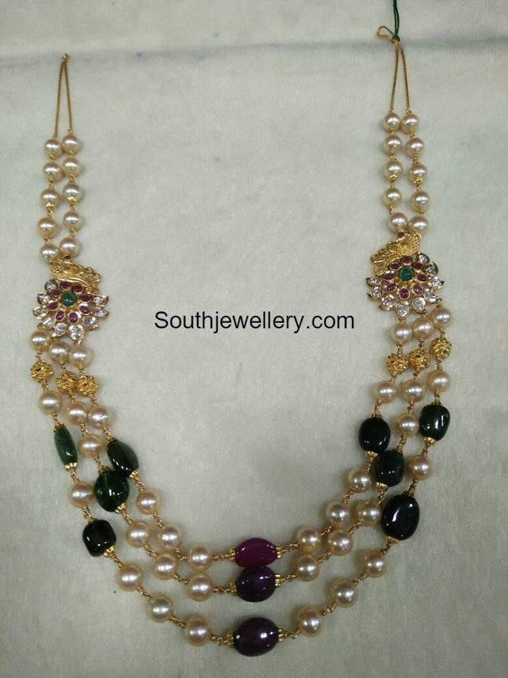 South Sea Pearls and Beads Mala photo