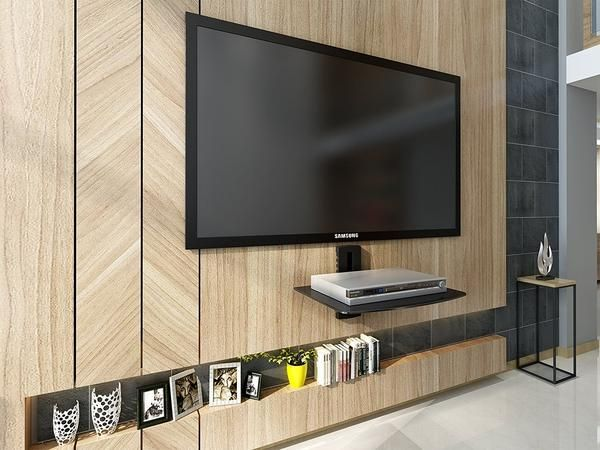 Well-liked 9 best AV wall shelf images on Pinterest | Floating wall, Cable  DB18