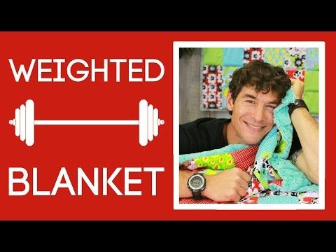 Weighted Blanket Tutorial for Autism Awareness Month | Always Great, Always Free Quilting Tutorials