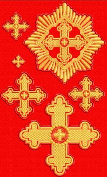 Advanced Embroidery Designs - Cross Set