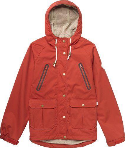 Burton Technische Snowboardbekleidung WB Cast – Chaqueta de esquí para mujer, color rojo, talla XL
