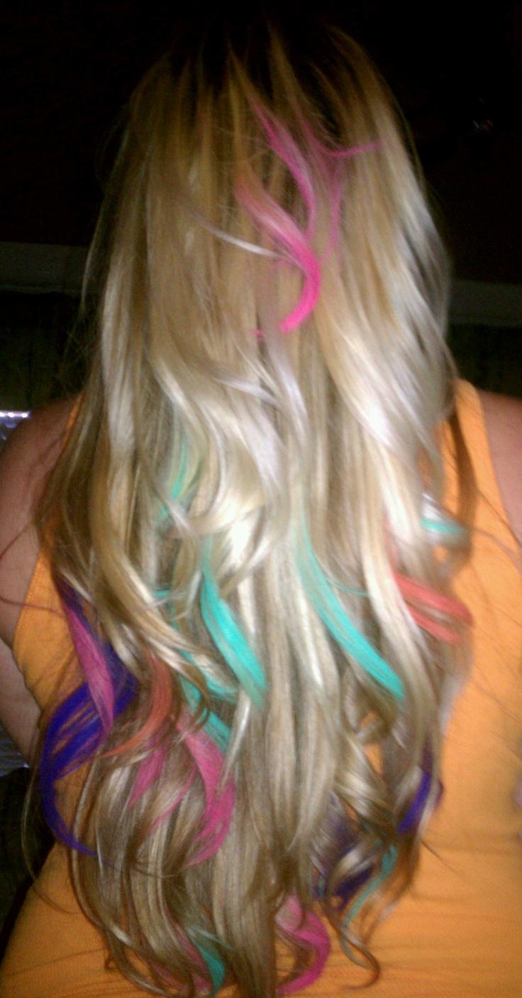 White Boo Ocean Hair Chalk Of Color Chalk For Hair