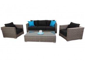 Ramada - 3 4pc Sofa Set