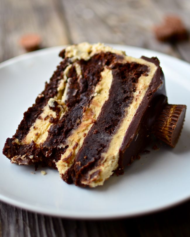 Yammie's Noshery: Flourless Chocolate Peanut Butter Cup Cake... Holy crap, this looks so decadent and DIVINE!