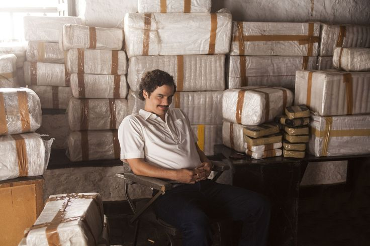 Wagner Moura is a hell of an actor.He played Pablo Escobar very well an' yeaa donn forget his mustache n little belly :'D