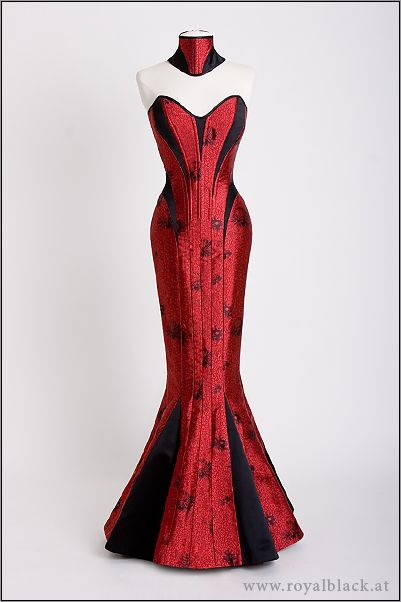 "If I had an extra $1500 laying around, I would totally purchase ""The Lady is a Vamp"" dress!"