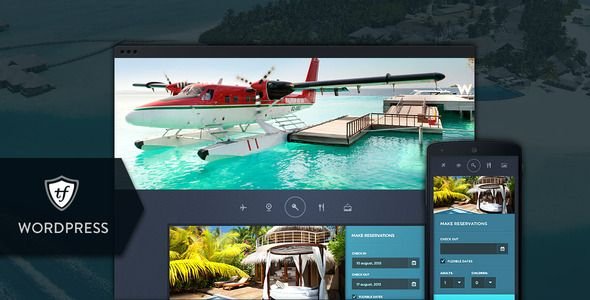 Paradise Cove - Hotel WordPress Theme by ThemeFuse Paradise Cove is a hotel WordPress theme that comes with a lot of specific short codes, pages and features, the reservation module