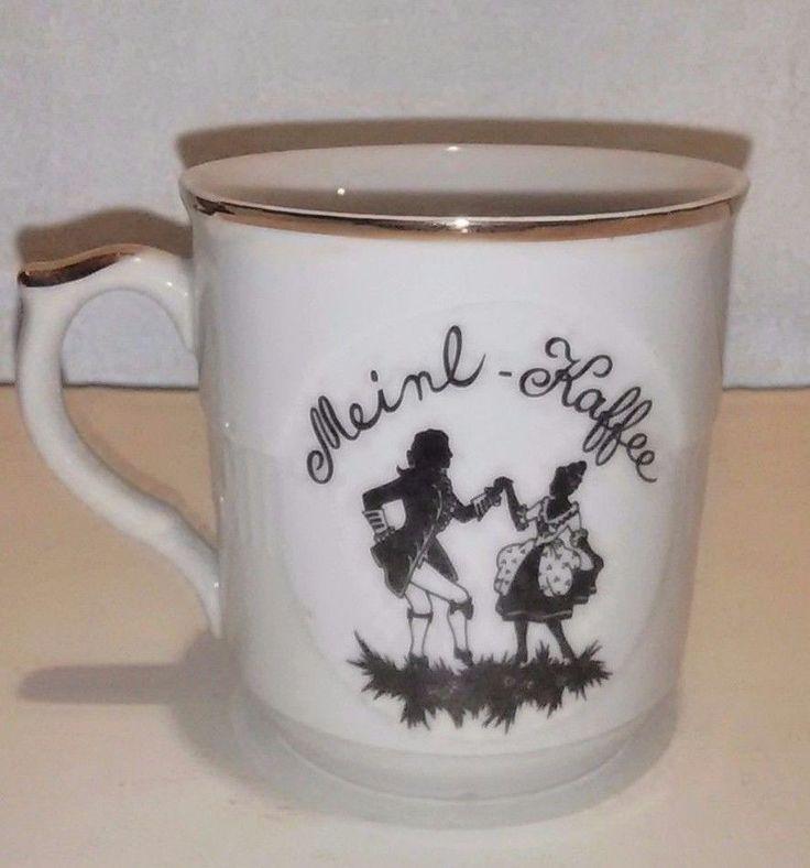 VTG EPIAG MEINL-KAFFEE Coffee Mug Made in Czechoslovakia Mozart Melange