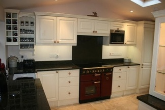 Stunning hand made painted kitchen