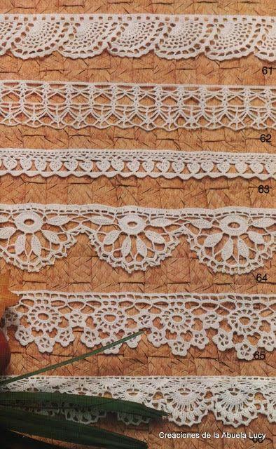 #277  Crochet Knitting Handicraft: Crochet edges