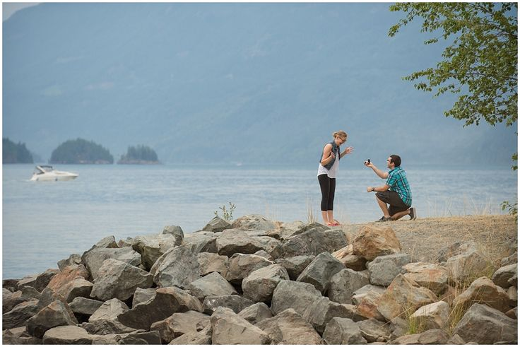 Proposal session. Harrison Hot Springs photographer