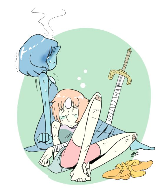Pearl and Blue Pearl