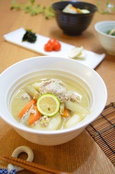 はまちのつみれで団子汁。 by ちきぽんさん | レシピブログ - 料理 ...