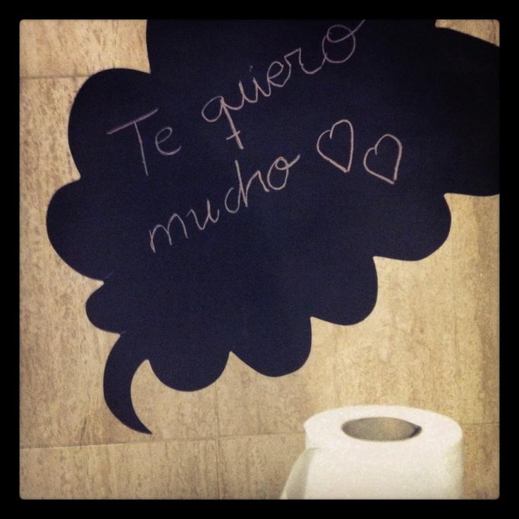 Amor hasta en el cuarto de baño Fotografía de @EstherBaZo