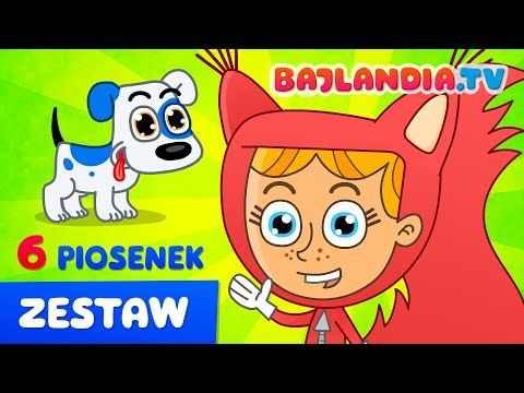 ZESTAW piosenek dla dzieci - 6 HITÓW po polsku - HD