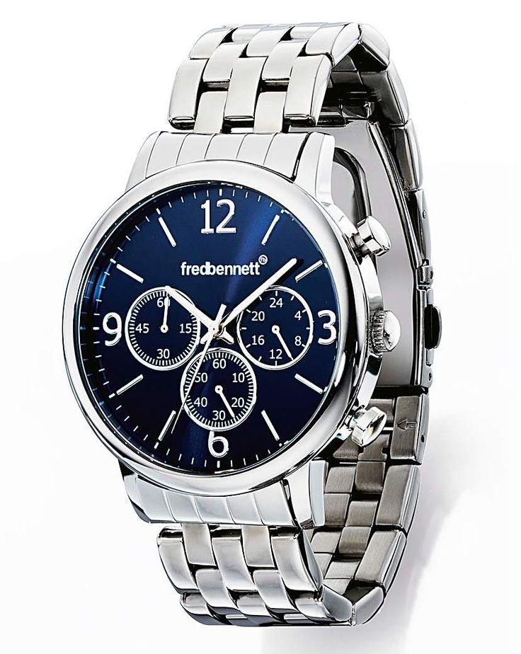 nice Buy Fred Bennett Gents Bracelet Watch for £95.00 just added...