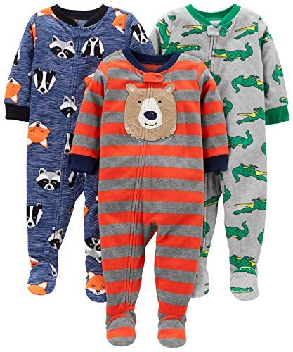 7cb2d74f1 Simple Joys by Carter s Boys  3-Pack Loose Fit Flame Resistant ...