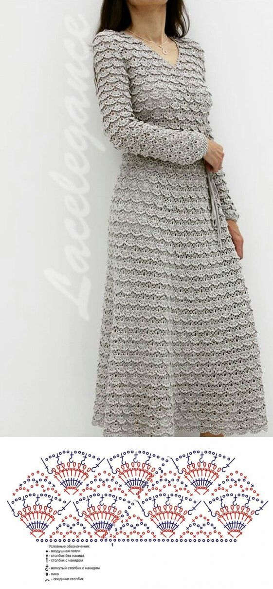 Don't like it as a dress, but would be a pretty skirt. liveinternet.ru