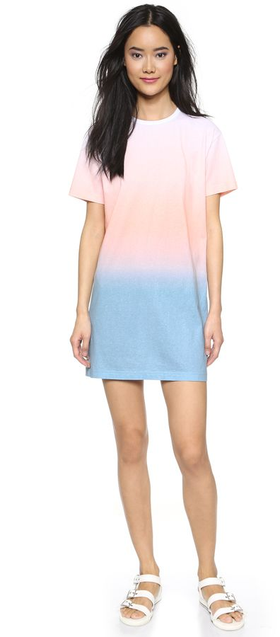 Summer short sleeve dress