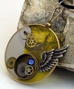 Reuse  optical lenses Make Jewelry