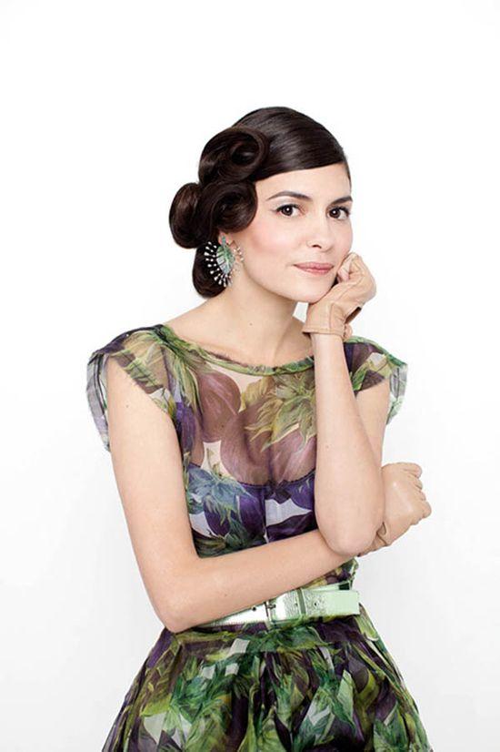 Актриса Одри Тоту в апрельском Marie Claire Russia | Мода, модели ...