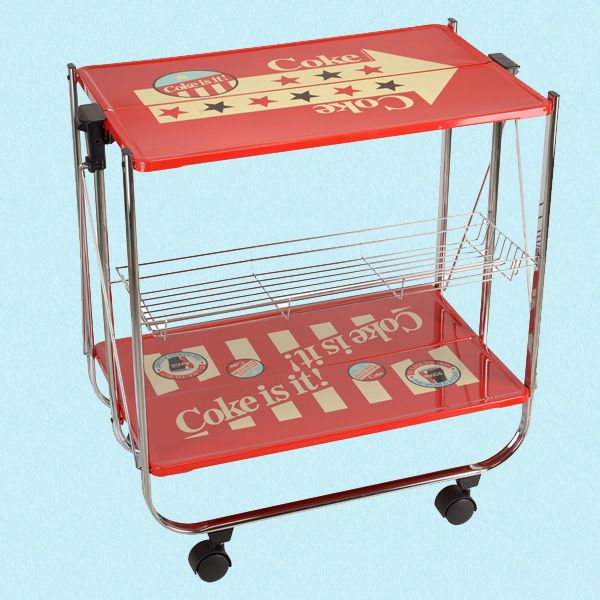 Fantastisk kult trillebord fra Ruth66. Om denne nettbutikken: http://nettbutikknytt.no/ruth66-no/