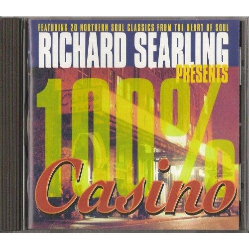 RICHARD SEARLING PRESENTS 100% CASINO CD