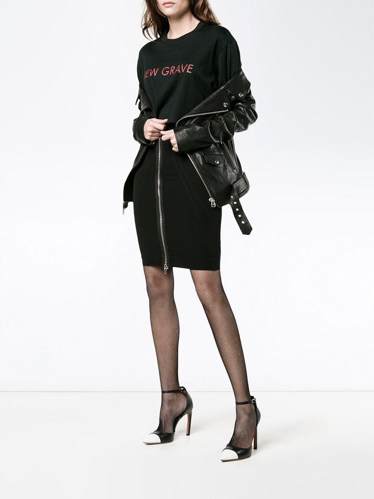 Givenchy falda ajustada con cremallera