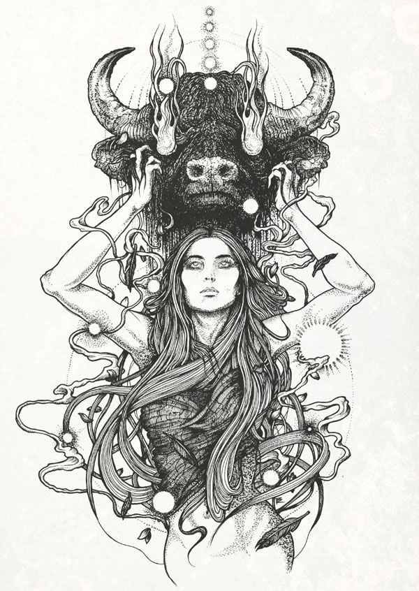 Juxtapoz Magazine - Richey Beckett Illustration | Illustration