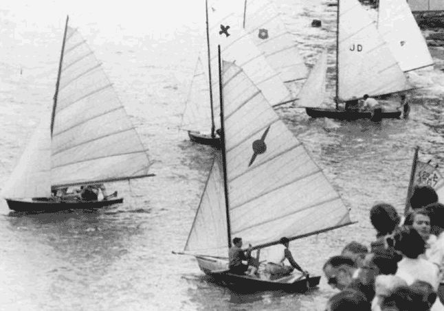 Opening day of the Avalon Sailing Club Clubhouse 1958